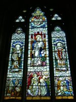 April 3rd Stained Glass Window Culross Abbey Scotland