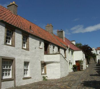 May Photograph Pantiled Roofs Culross Scotland
