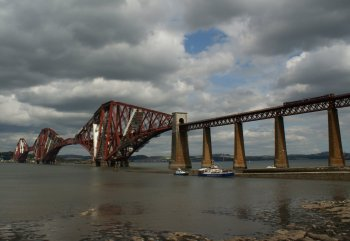 August 8th Forth Railway Bridge Scotland