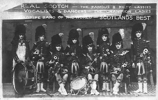 Ladies Bagpipe Band