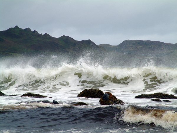 Skye Wave at Staffin
