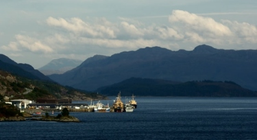 Kyle of Lochalsh Scotland