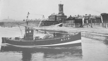 Old Photograph Arbroath Scotland