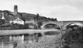 Old Photograph Ardstinchar Castle Scotland