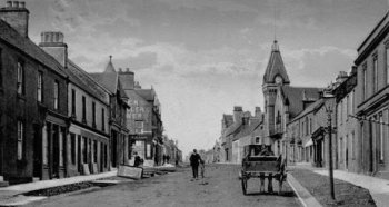 Old Photograph Auchterarder Perthshire Scotland
