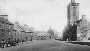 Old Photograph Auchtermuchty Scotland