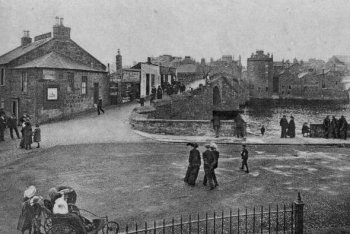 Old Photograph Ayr Scotland
