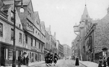 Old Photograph Canongate Tolbooth Edinburgh Scotland
