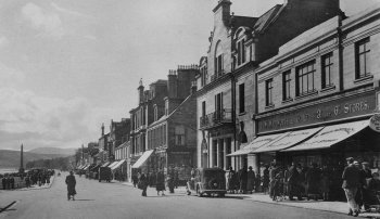 Old Photograph Clyde Street Helensburgh Scotland