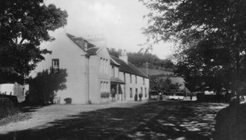 Old Photograph Colquhoun Arms Hotel Luss Loch Lomond Scotland