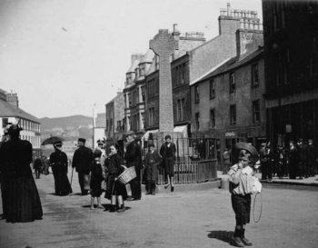 Old Photograph Cross Campbeltown Scotland