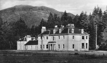 Old Photograph Doune of Rothiemurchus Aviemore Scotland