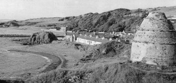 Old Photograph Dunure Scotland