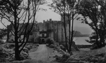 Old Photograph Dunvegan Castle Isle Of Skye Scotland