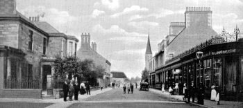 Old Photograph Durie Street Leven Scotland