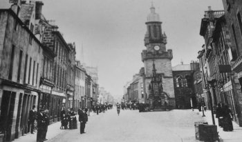 Old Photograph Forres Scotland