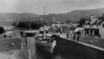 Old Photograph Fort Augustus Scotland