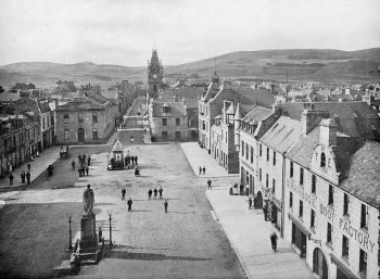 Old Photograph Huntly Aberdeenshire Scotland