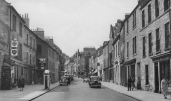 Old Photograph Jedburgh Scotland