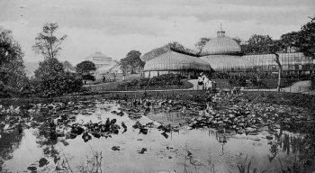 Old Photograph Kibble Palace Scotland