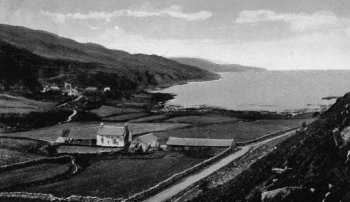 Old Photograph Lagg Jura Scotland