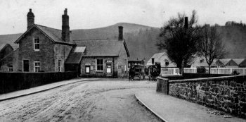 Old Photograph Langholm Scotland