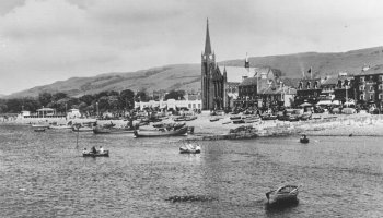 Old Photograph Largs Scotland