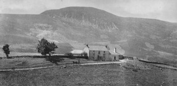 Old Photograph Little Glenshee Scotland