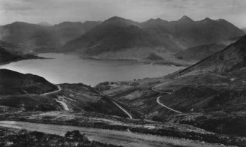 Old Photograph Loch Duich Scotland