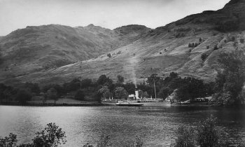 Old Photograph Loch Lomond Scotland
