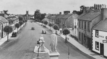 Old Photograph Lochmaben Scotland