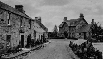 Old Photograph Logierait Scotland