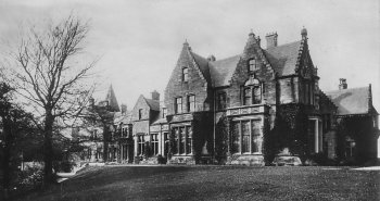 Old Photograph Mansion House Rouken Glen Scotland
