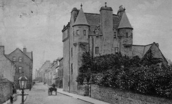 Old Photograph Maybole Scotland