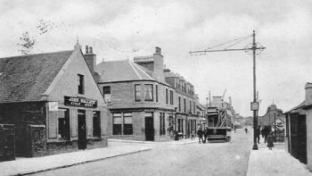 Old Photograph Monifieth Scotland