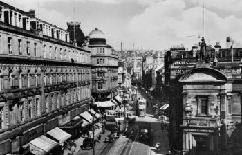 Old Photograph Murraygate Dundee Scotland