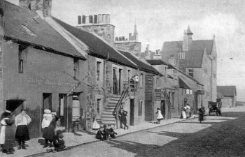 Old Photograph Newhaven Village Scotland
