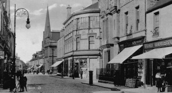 Old Photograph Of Alloa Scotland