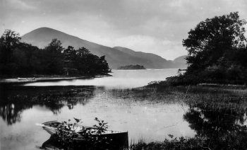 Old Photograph Straits Of Luss Scotland