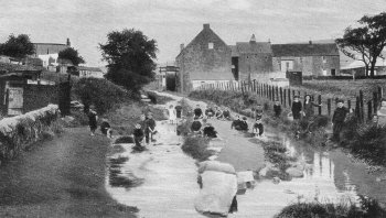Old Photograph The Mill Campbeltown Scotland