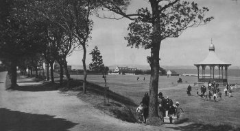 Old Photograph The links Nairn Scotland