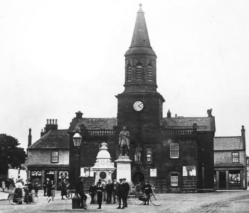 Old Photograph Tolbooth Lochmaben Scotland