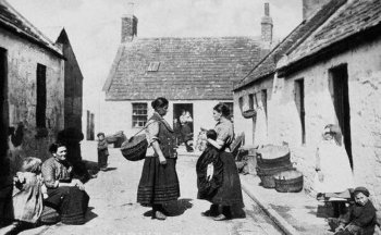 Old Photograph of Auchmithie Scotland