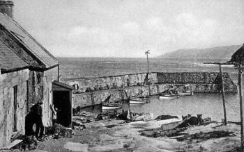 Old Photograph of Cove Scotland