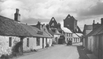 Old Photograph of New Abbey Scotland