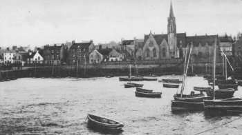 Old Photograph of Newhaven Edinburgh Scotland