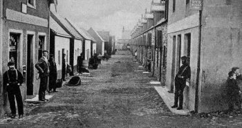Old Photograph of St Abbs Scotland