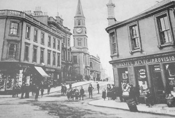 Old photograph Airdrie Scotland