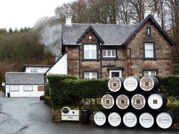 Tour Glengoyne Whisky Distillery Scotland