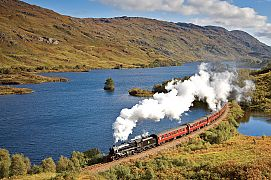 Tour Scotland By Train